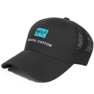 Coastal Cotton Clothing -  - Black Structured Trucker