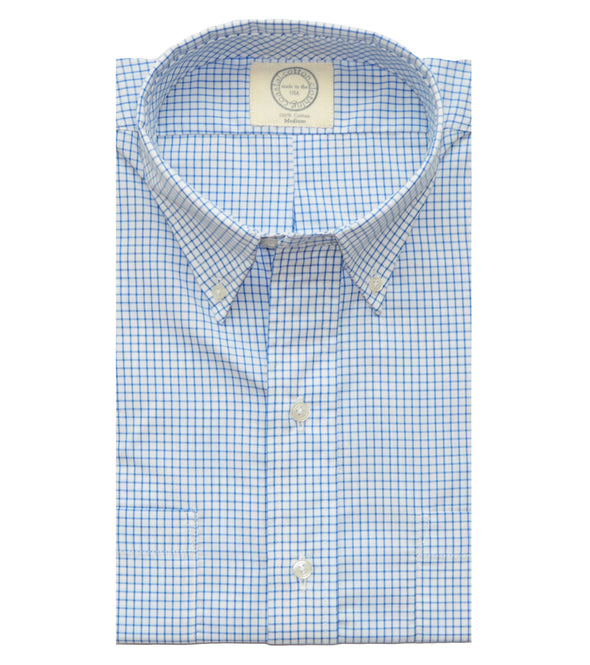 Coastal Cotton Clothing - Wovens - Royal Blue Check