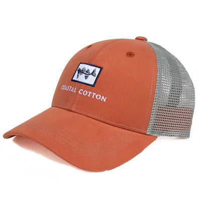 Coastal Cotton Clothing -  - Burnt Orange Structured Trucker