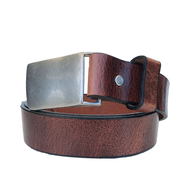 Coastal Cotton Clothing - American Made Belts - Buffalo Flat Buckle Belt