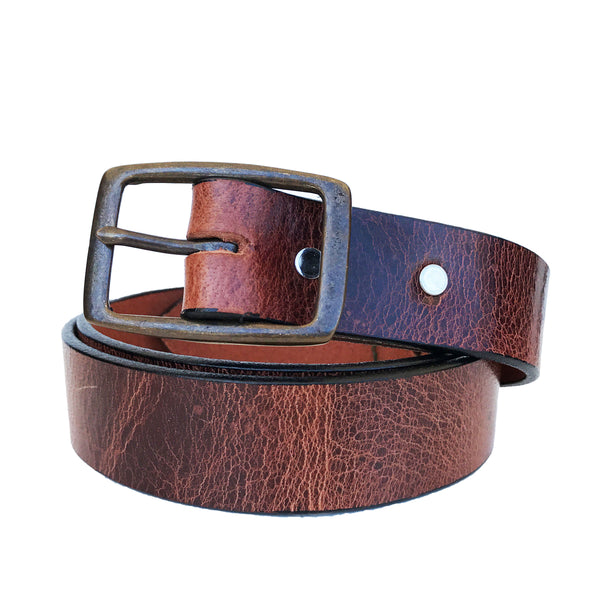 Coastal Cotton Clothing - American Made Belts - Buffalo Vintage Buckle Belt