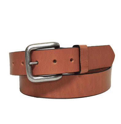 Coastal Cotton Clothing - American Made Belts - Classic Camel Leather Belt