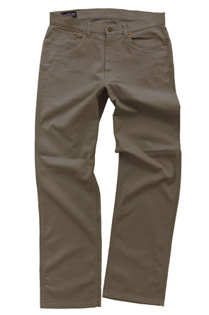 Taupe Canvas 5 Pocket Pant