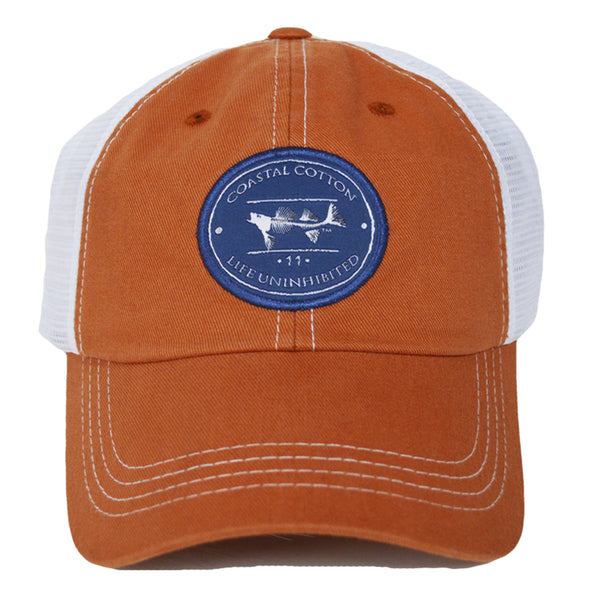Coastal Cotton Clothing -  - Burnt Orange Trucker