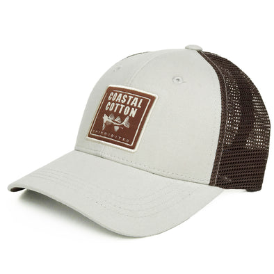 Coastal Cotton Clothing -  - Stone/Brown Structured Trucker
