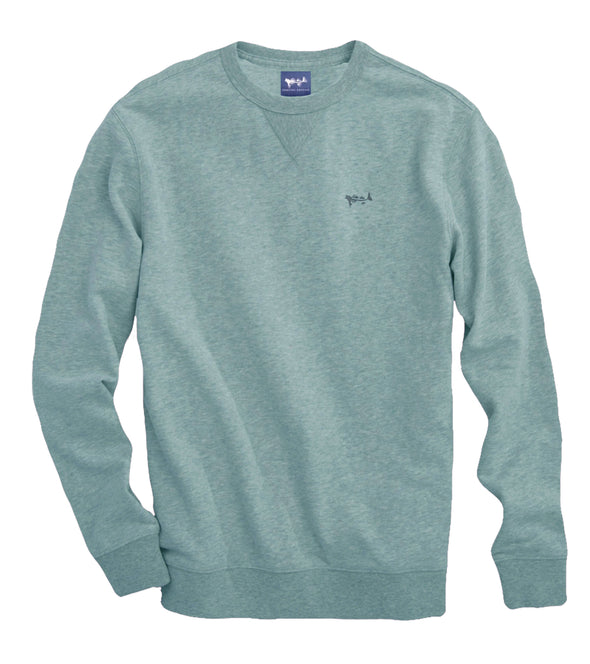 Coastal Green Crew Neck