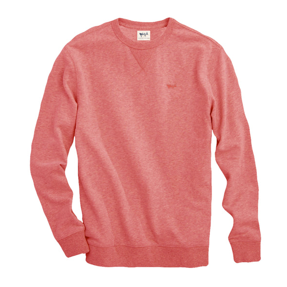 Coastal Cotton Clothing - Crew Neck -Spice Coral Crew Neck