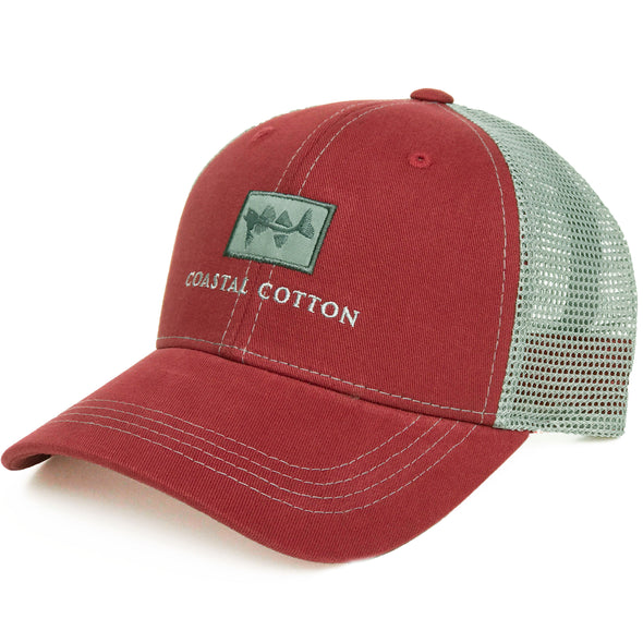 Coastal Cotton Clothing -  - Crimson Structured Trucker
