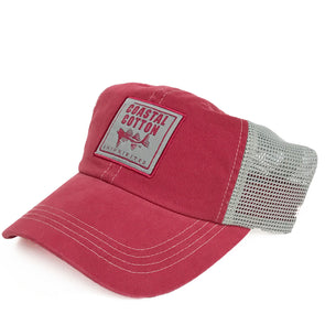 Coastal Cotton Clothing -  - Crimson/Grey Trucker