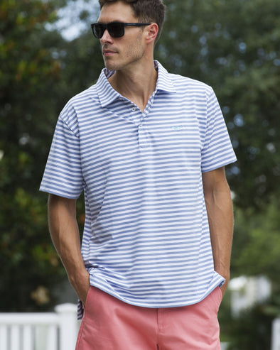 Coastal Cotton Clothing - Polos - Eventide Performance Polo