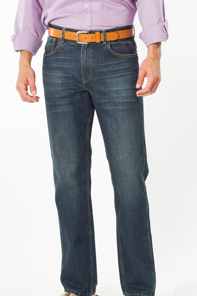 Coastal Cotton Clothing - FIve Pocket Pants - Indigo Denim Five Pocket