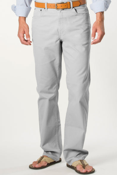 Coastal Cotton Clothing - FIve Pocket Pants - Greystone Five Pocket