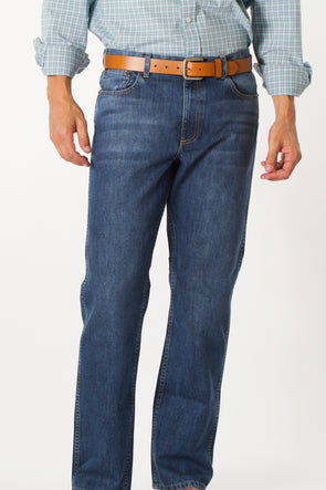 Coastal Cotton Clothing - FIve Pocket Pants - Light Denim Five Pocket