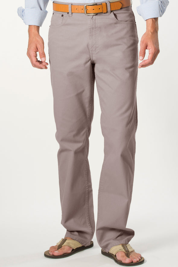 Coastal Cotton Clothing - FIve Pocket Pants - Walnut Five Pocket