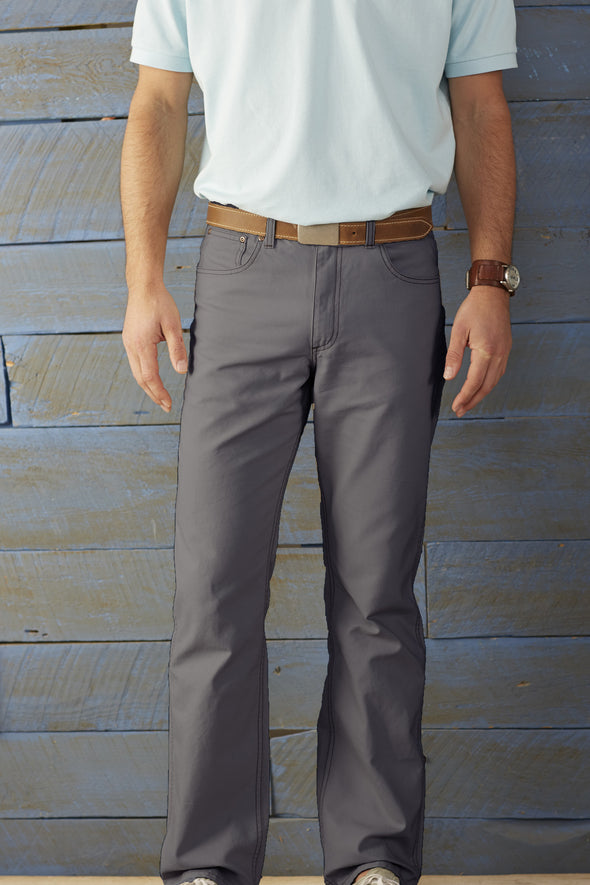 Coastal Cotton Clothing - FIve Pocket Pants - Graphite Five Pocket