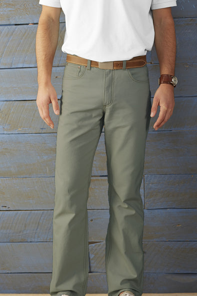 Coastal Cotton Clothing - FIve Pocket Pants - Jalapeno Five Pocket
