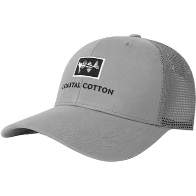 Coastal Cotton Clothing -  - Grey Structured Trucker