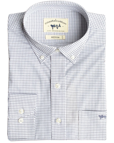 Grey Check Sport Shirt