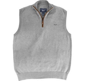 Coastal Cotton Clothing - Quarter Zip - Greystone Quarter Zip Vest