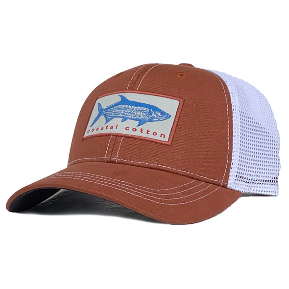 Rust Tarpon Structured Trucker