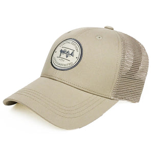 Coastal Cotton Clothing -  - Khaki Structured Trucker