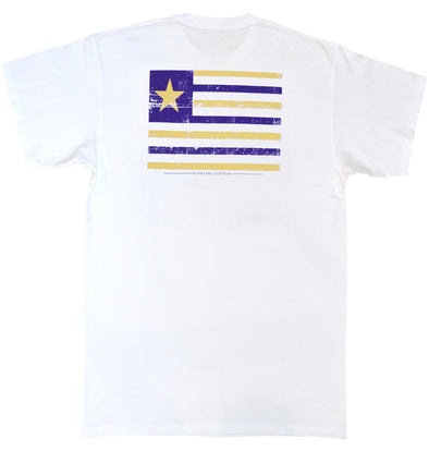 Coastal Cotton Clothing - T-Shirts - White Louisiana