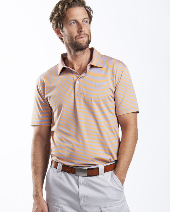 Mango Performance Two Color Polo