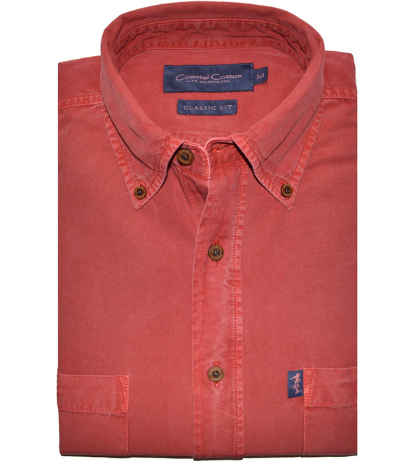 Coastal Cotton Clothing - Sport Shirt - Mineral Vintage Twill
