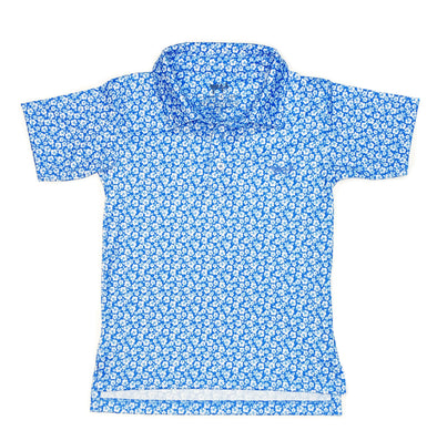Youth Marina Tropic Performance Polo
