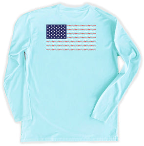 Mint Flag Performance Tee