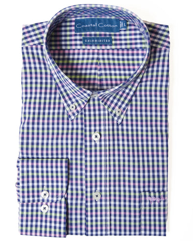 Coastal Cotton Clothing - Sport Shirt - Salty Bay