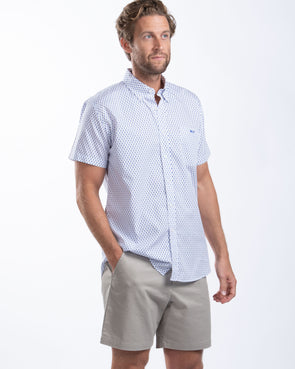 Seahorse Short Sleeve 100% Cotton Sport Shirt