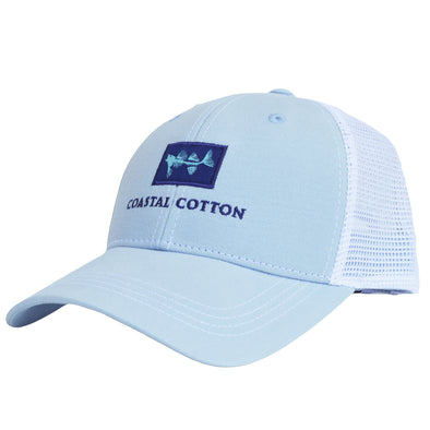 Coastal Cotton Clothing -  - Sky Structured Trucker