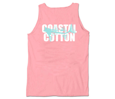 Coastal Cotton Clothing - T-Shirts - Watermelon Logo Tank top