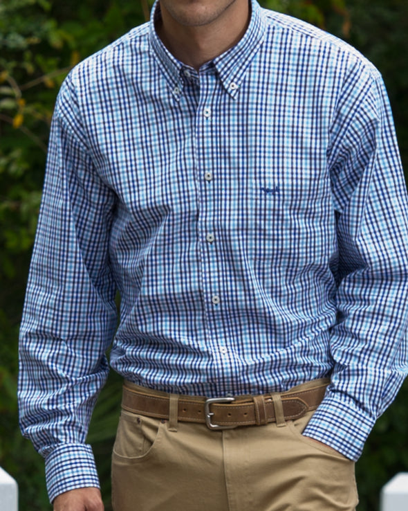 Coastal Cotton Clothing - Sport Shirt - Marlin Gingham