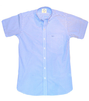 Coastal Cotton Clothing - Wovens - Light Blue Gingham
