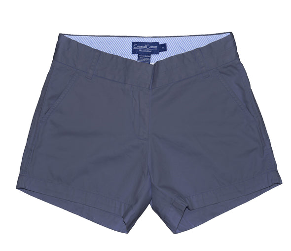 Coastal Cotton Clothing - Women's Island Short - Women's Navy Island Short