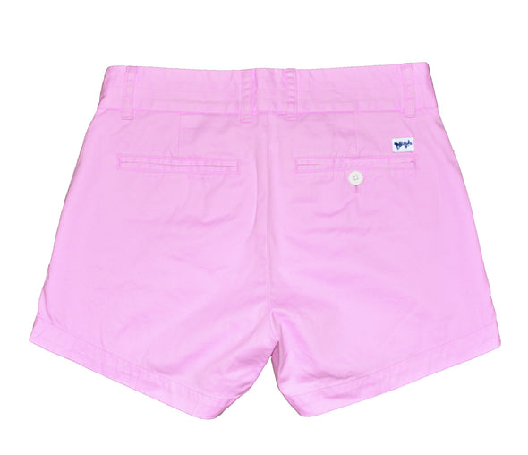 Coastal Cotton Clothing - Women's Island Short - Women's Pink Lemonade Island Short