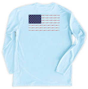 Youth Sky Flag Performance Tee