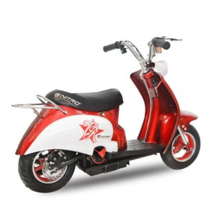 Retro scooter électrique 24 volts 350 watts