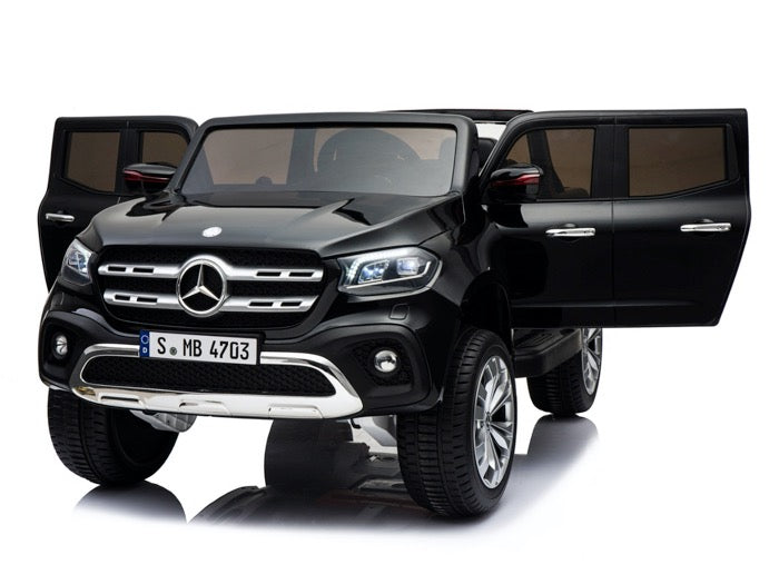 Mercedes Classe X 2 x 12 volts 2 places