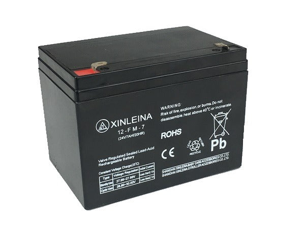 Batterie 24 volts 7 ampères