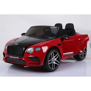 Bentley continental 12 volts voiture électrique enfant 2 places rouge
