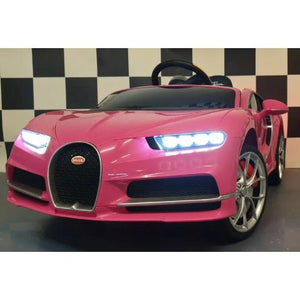 Bugatti Chiron 12 volts monoplace rose