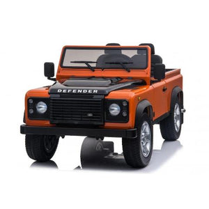 Land Rover Safari voiture enfant électrique 24 volts 4x4 2 places orange