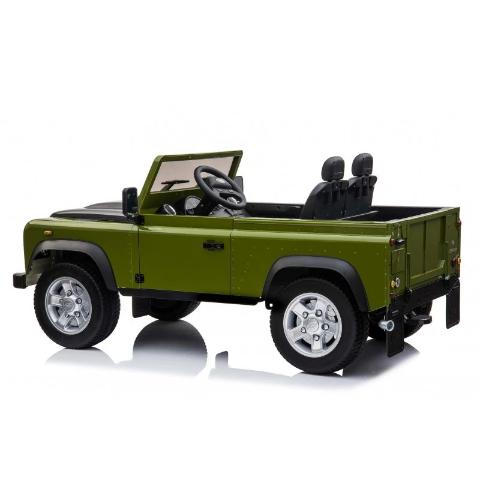 Land Rover Defender Safari Enfant 24 volts 2 places 4 moteurs