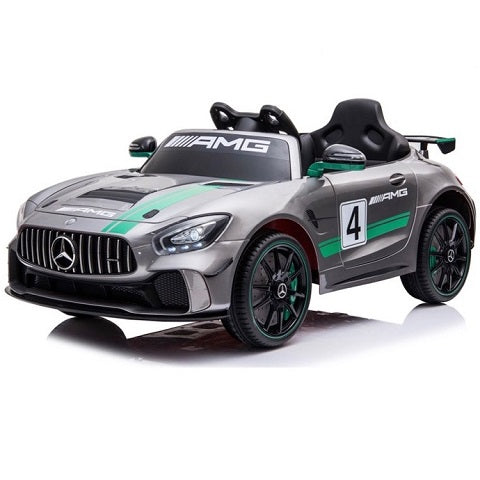 Mercedes GTR AMG GT Racing 12 volts électrique grise