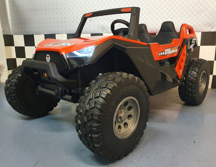 Buggy Can-Ham II Big cross 24 volts 4 moteurs 2 places