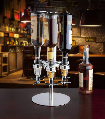 Image of Dispensador para 6 botellas giratorio - Tienda Mish!