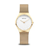 Bering Ladies Classic Polished Gold Watch 12131-339